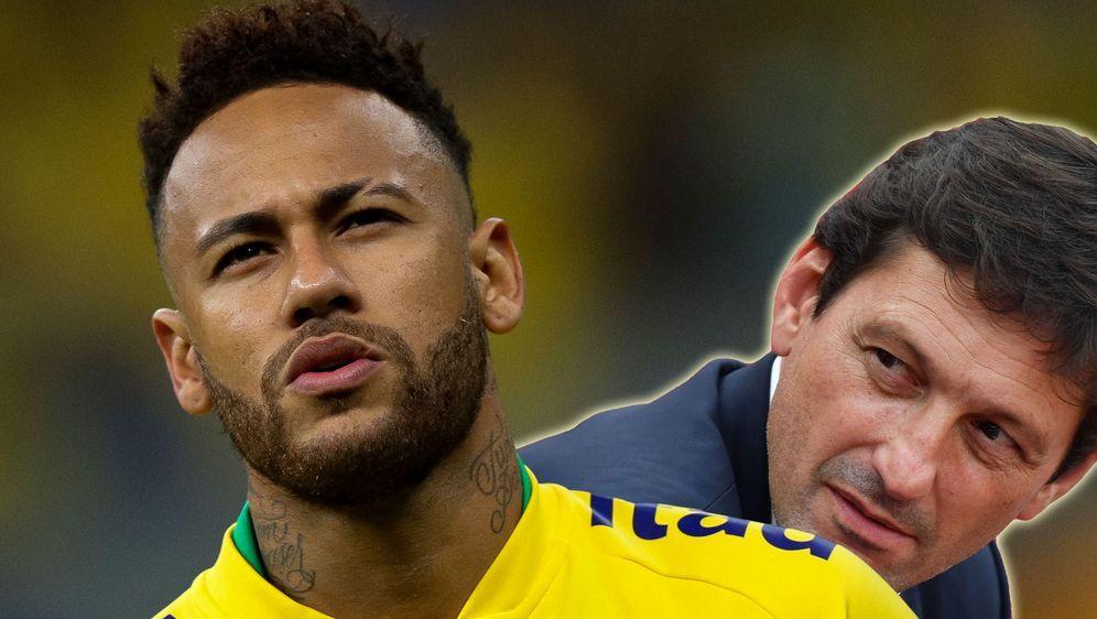 Werden wohl keine Freunde: PSG-Star Neymar (l.) musste sich vom neuen Sportd... - Bildquelle: Getty Images, imago
