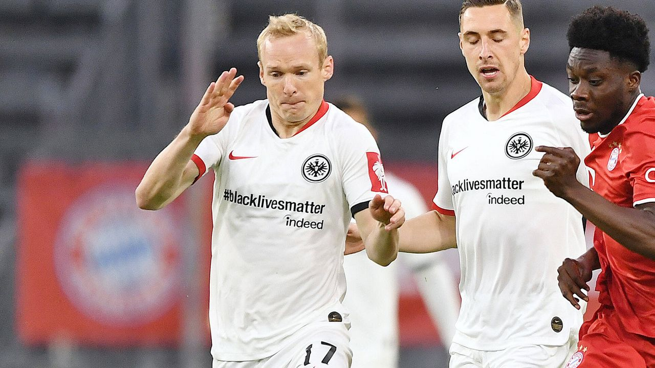 Eintracht Frankfurt: Sebastian Rode - Bildquelle: Imago