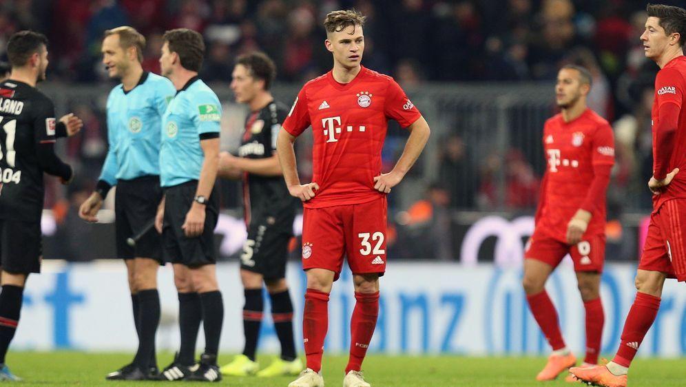 Bayerns Erfolgsserie ist gegen Leverkusen gerissen - Bildquelle: Imago