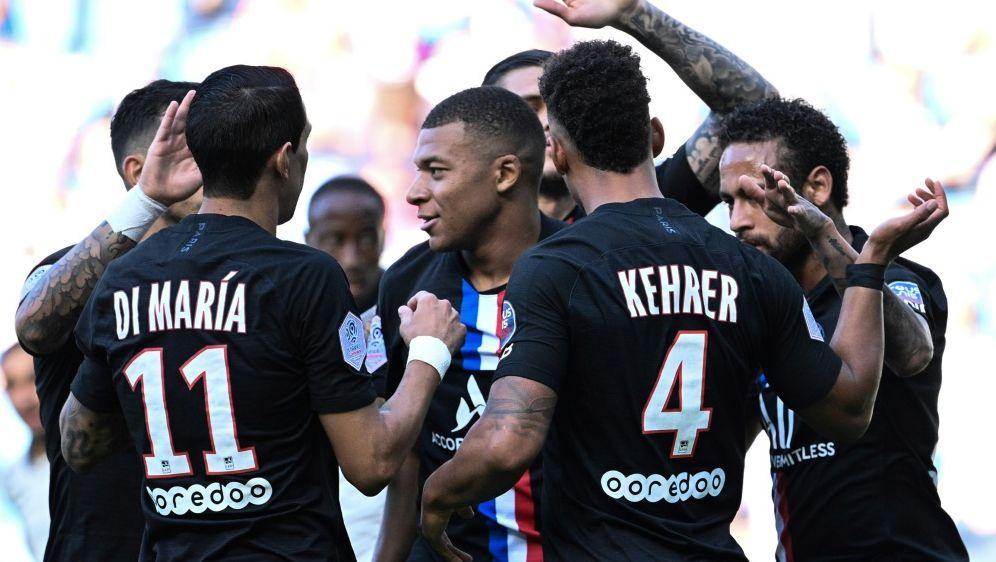 PSG gewann gegen Le Havre souverän mit 9:0 - Bildquelle: AFPSIDANNE-CHRISTINE POUJOULAT