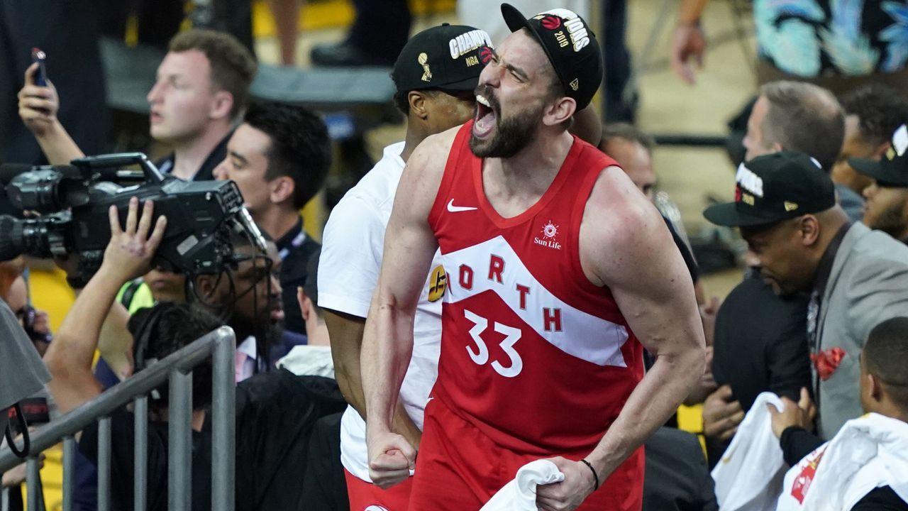 Marc Gasol (Toronto Raptors) - Bildquelle: getty