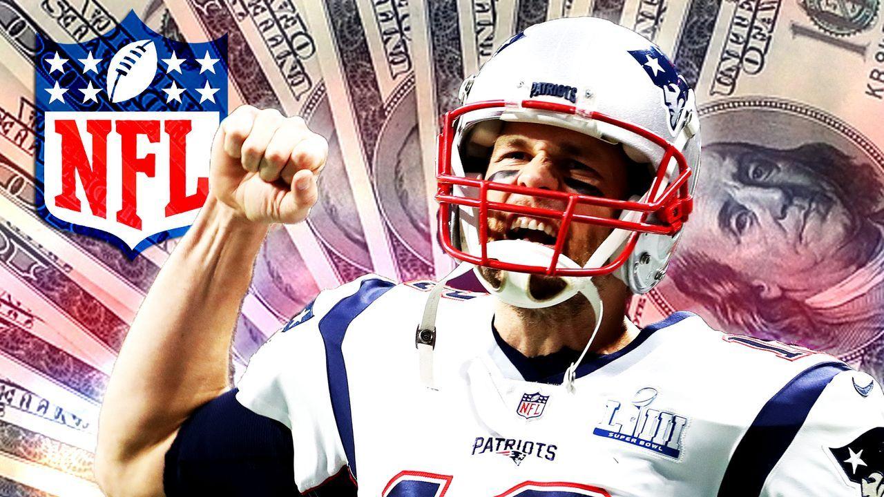 Neuer Vertrag! So viel verdiente Tom Brady in jedem Jahr seiner NFL-Karriere - Bildquelle: 2019 Getty Images