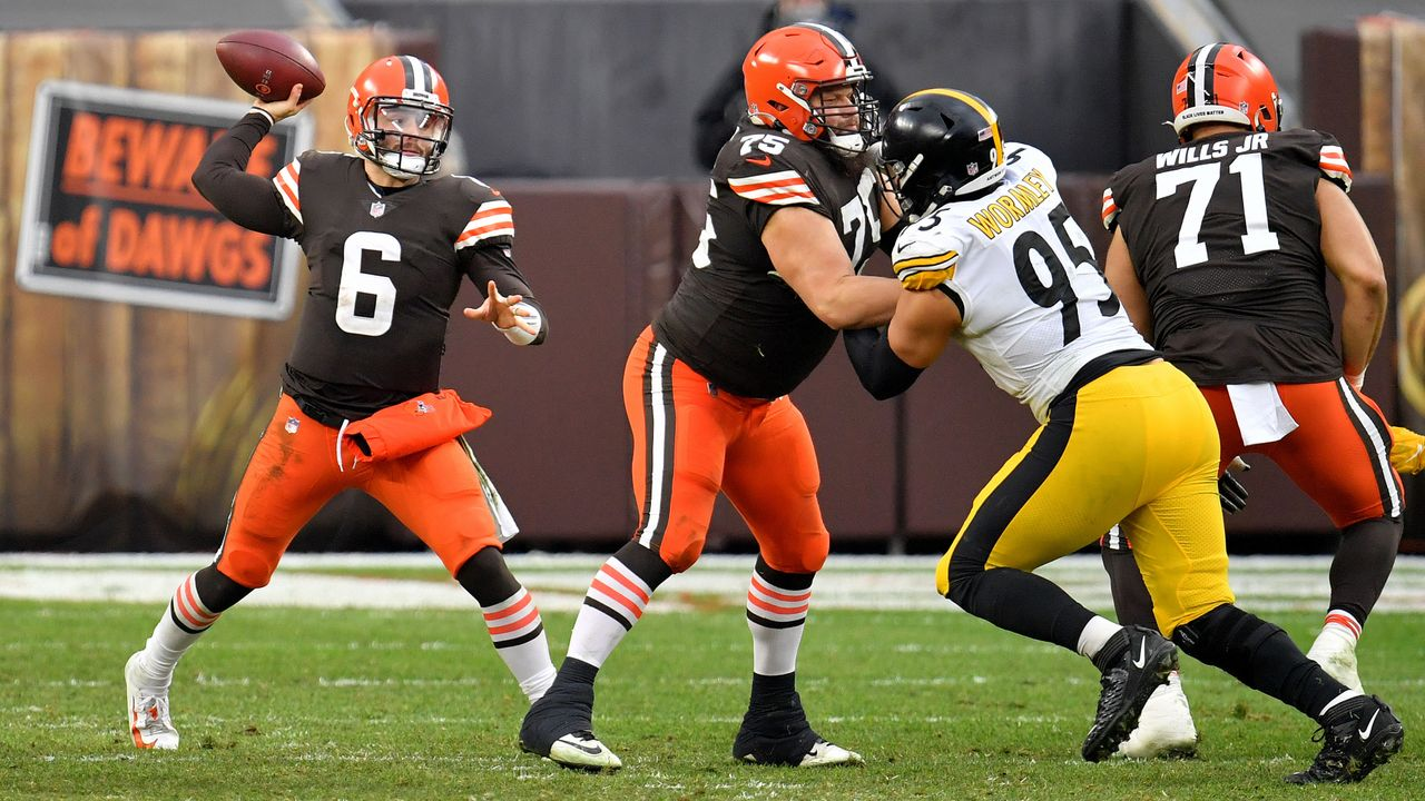 AFC Wild Card Round #6 Browns at #3 Steelers - Bildquelle: 2021 Getty Images
