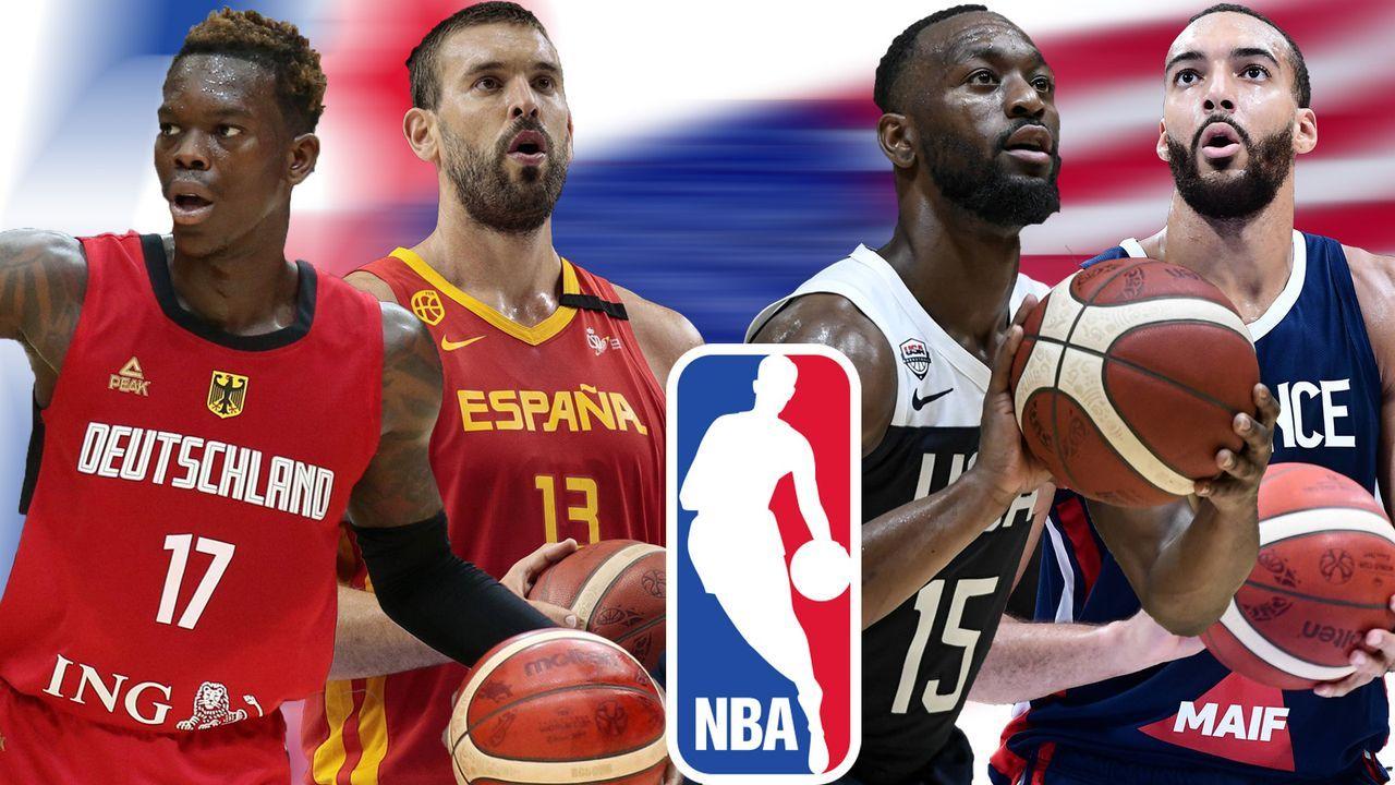 Die NBA-Stars bei der Basketball-WM