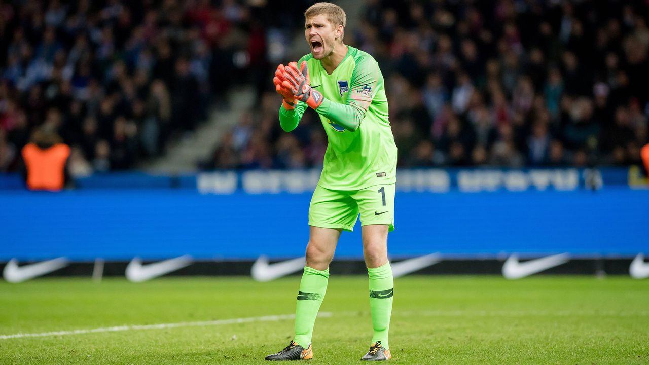 Thomas Kraft (Hertha BSC) - Bildquelle: imago/photoarena/Eisenhuth