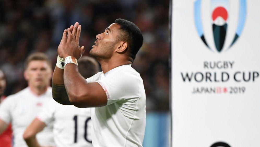 Rugby-WM: Tuilagi und England bezwingen Tonga 35:3 - Bildquelle: AFPAFPWILLIAM WEST