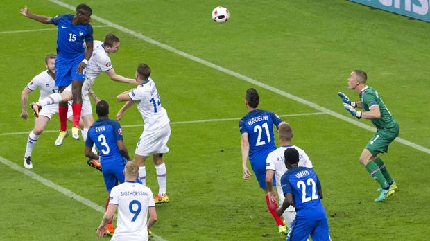 Frankreich vs. Island - Bildquelle: imago/Colorsport