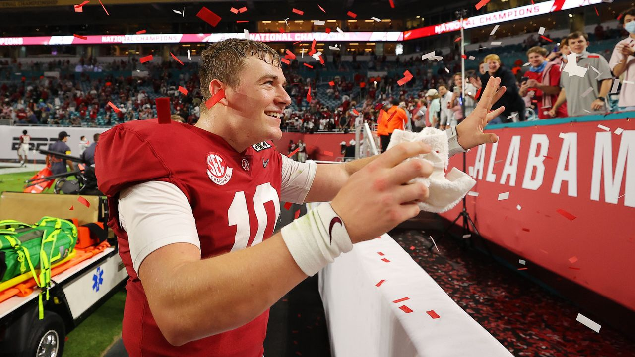 Quarterback Mac Jones (Alabama) - Bildquelle: GettyImages