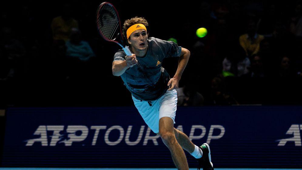 Alexander Zverev steht im Halbfinale. - Bildquelle: imago