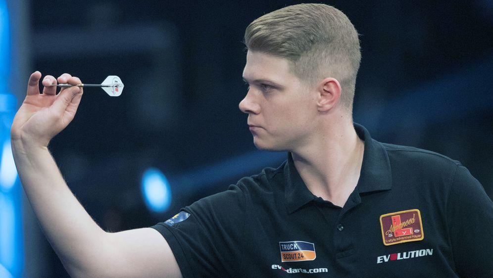 Nico Kurz hat sich für die Darts-WM qualifiziert - Bildquelle: Imago