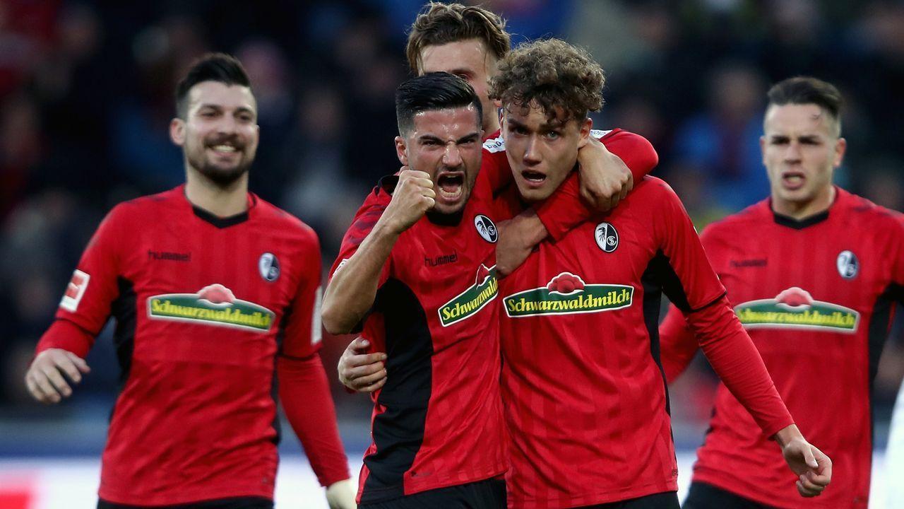 Platz 17 - SC Freiburg - Bildquelle: 2018 Getty Images