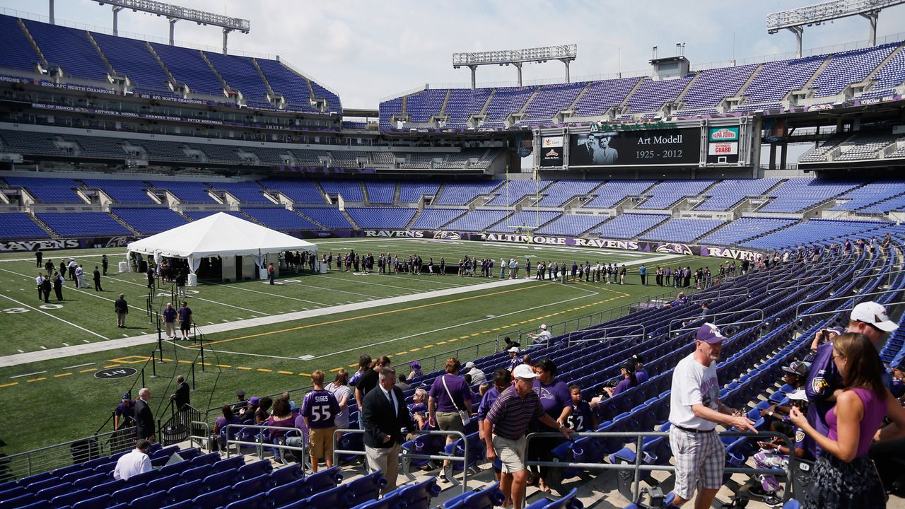 Baltimore Ravens: M&T Bank Stadium - Bildquelle: Getty Images