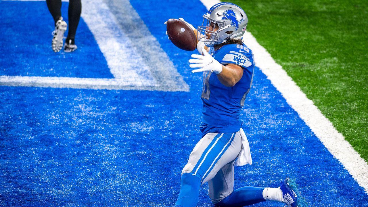 Platz 9: T.J. Hockenson (Detroit Lions) - Bildquelle: 2020 Getty Images