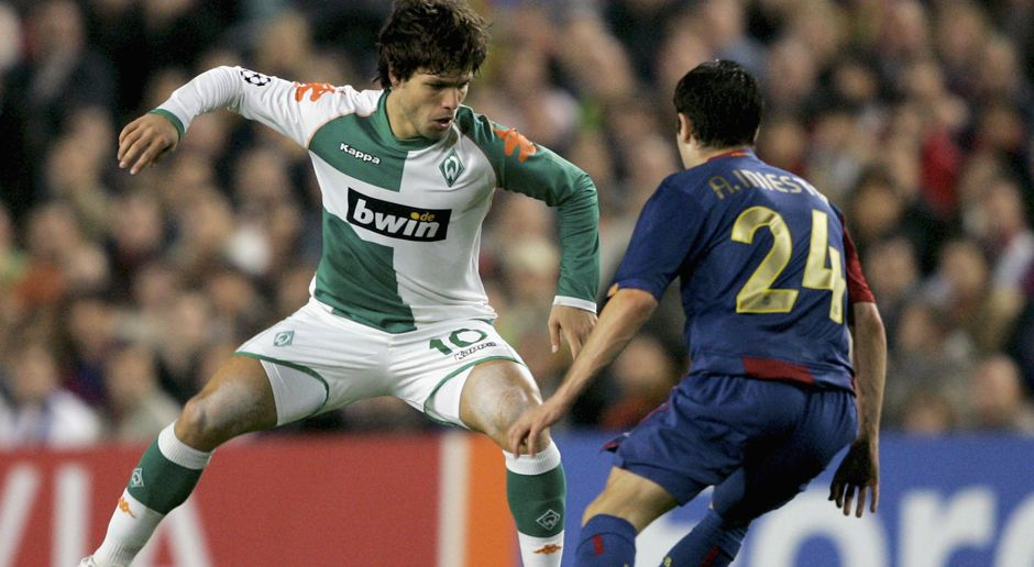2006 - Diego zu Werder Bremen (6 Mio.) - Bildquelle: 2006 Getty Images