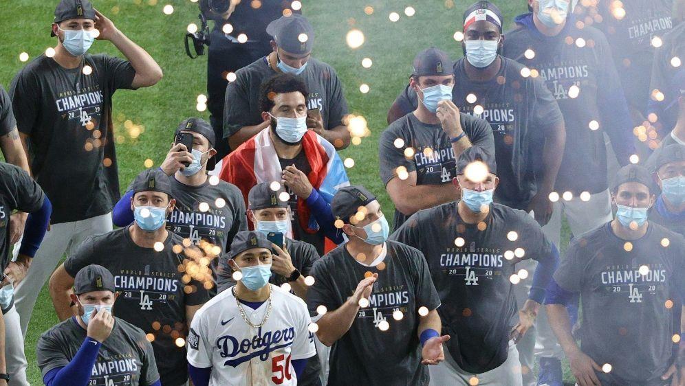 L.A. Dodgers beenden lange Durststrecke - Bildquelle: AFPGETTY SID