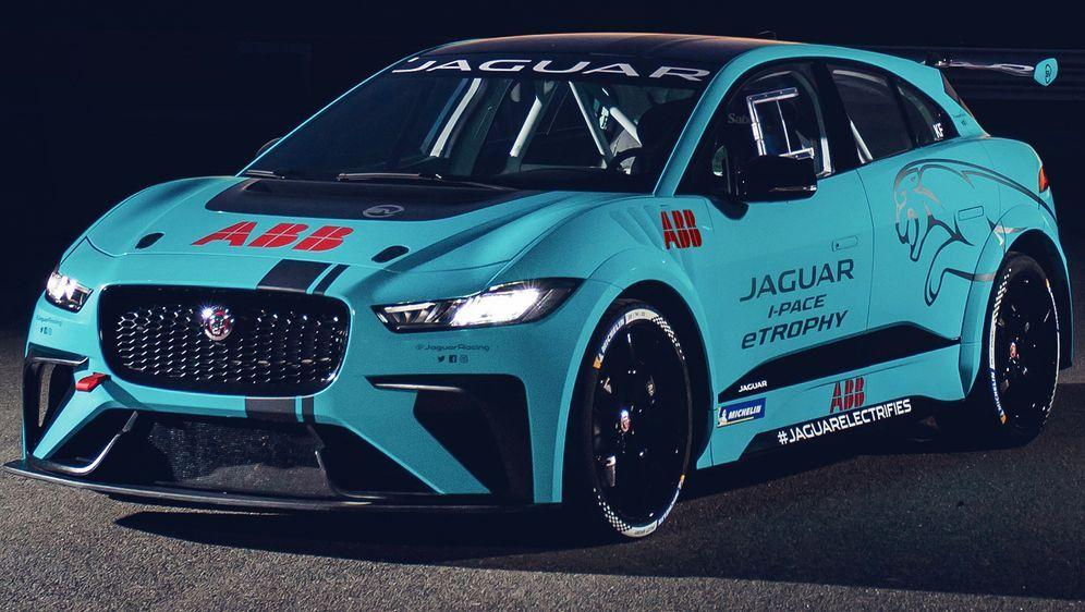 Die Jaguar I-PACE eTrophy geht in ihre erste Saison. - Bildquelle: Jaguar