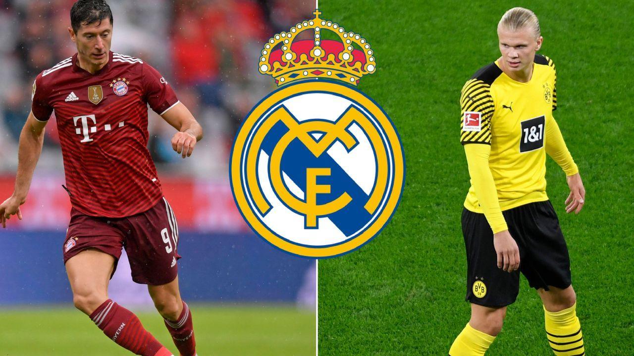 Erling Haaland (Borussia Dortmund) & Robert Lewandowski (FC Bayern München) - Bildquelle: Imago