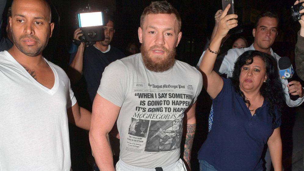 Conor McGregor hat Ärger mit der Justiz auf Korsika. - Bildquelle: imago images / ZUMA Press