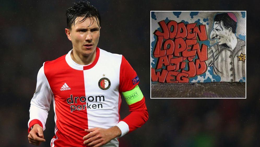 Nach seinem Wechsel zu Ajax Amsterdam wurde Steven Berghuis zum Feindbild de... - Bildquelle: Getty Images/twitter@Huuby1984