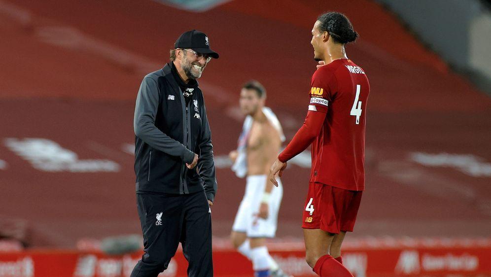 Liverpool-Manager Jürgen Klopp und Defensiv-Star Virgil van Dijk - Bildquelle: Getty Images