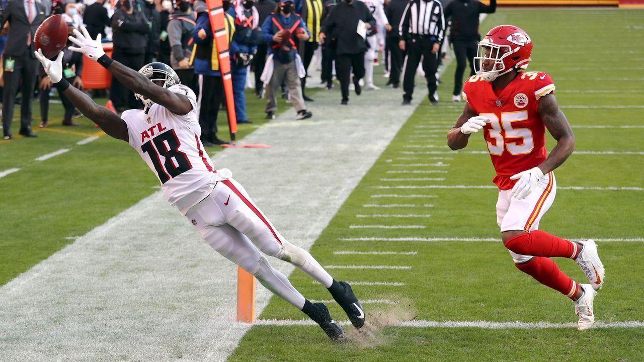 Gewinner: Falcons-Receiver - Bildquelle: Getty Images