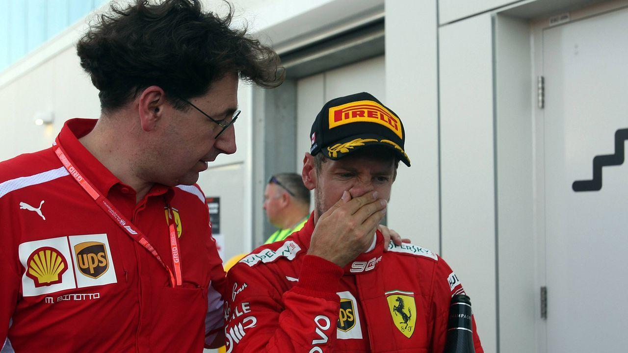 Abschied oder Angriff: Wie geht es für Sebastian Vettel weiter? - Bildquelle: imago images / LaPresse