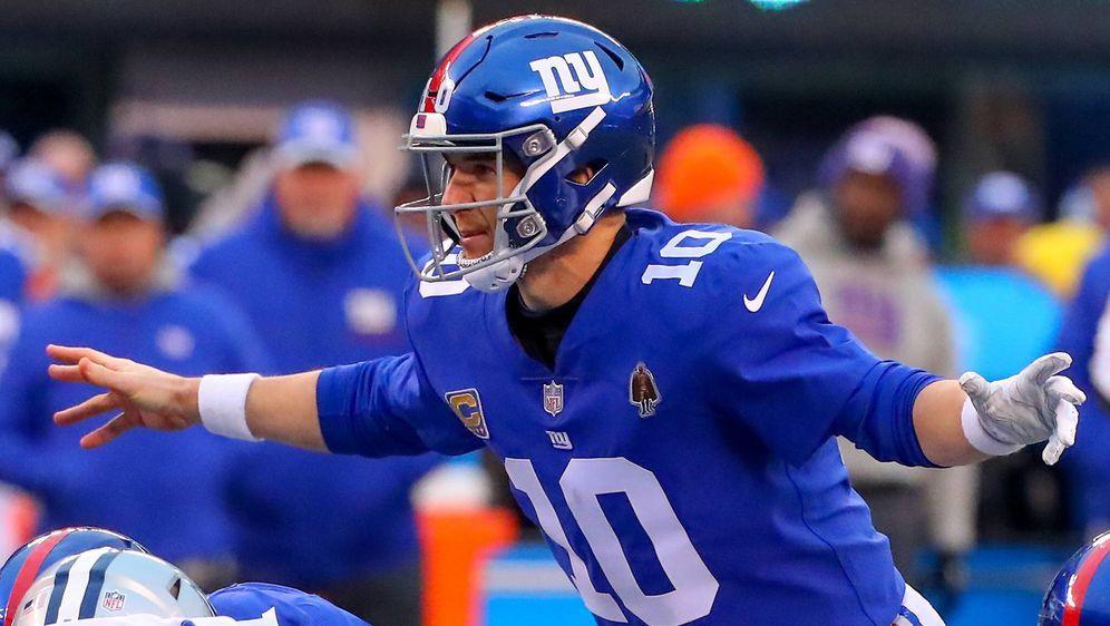 Eli Manning bekommt schon wieder sein Fett weg. - Bildquelle: imago/Icon SMI