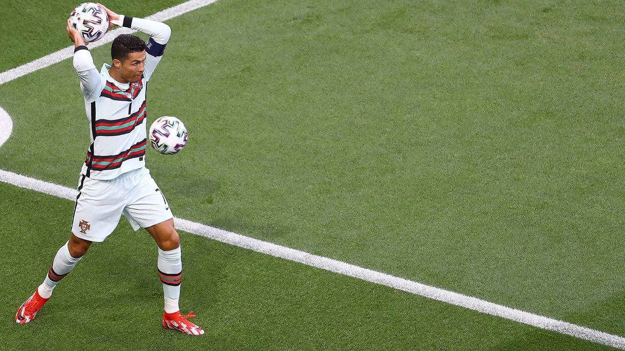 Cristiano Ronaldo kommt bei fünftem EM-Turnieren zum Einsatz - Bildquelle: imago