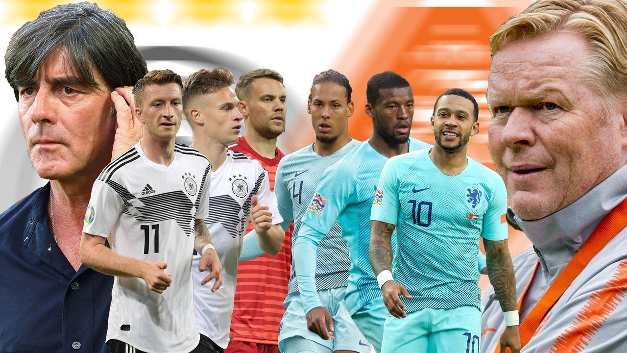 Länderspiel-Klassiker: Head to Head zwischen Deutschland und Niederlande  - Bildquelle: imago