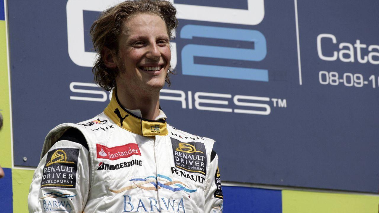 2011: Romain Grosjean - Bildquelle: imago sportfotodienst