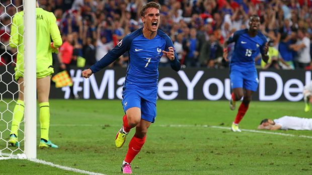 Antoine Griezmann - Bildquelle: 2016 Getty Images