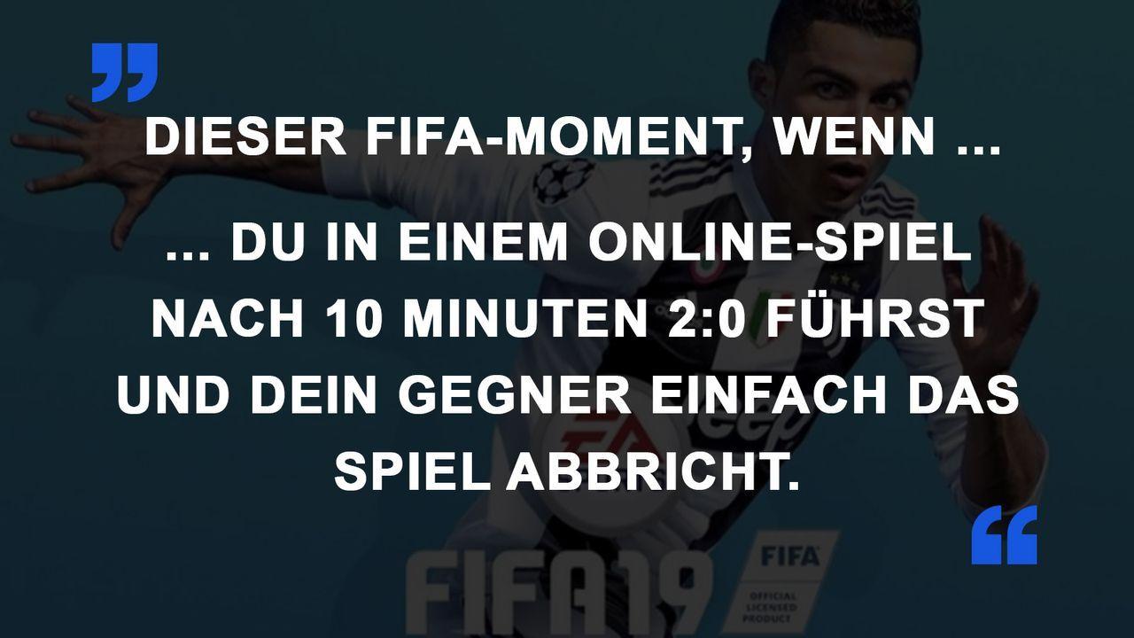 FIFA Momente Online-Spiel