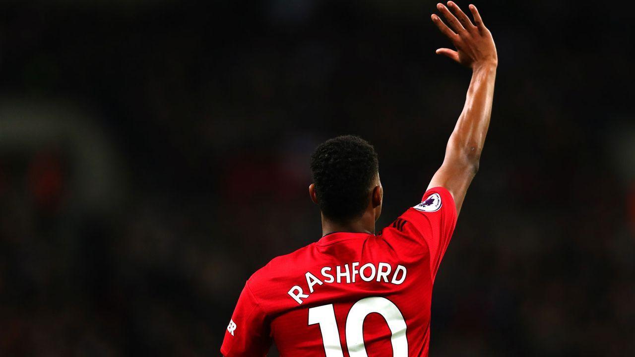 Platz 23: Marcus Rashford (England) - Bildquelle: 2019 Getty Images