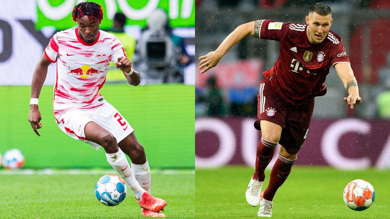 Mohamed Simakan vs. Niklas Süle - Bildquelle: Imago