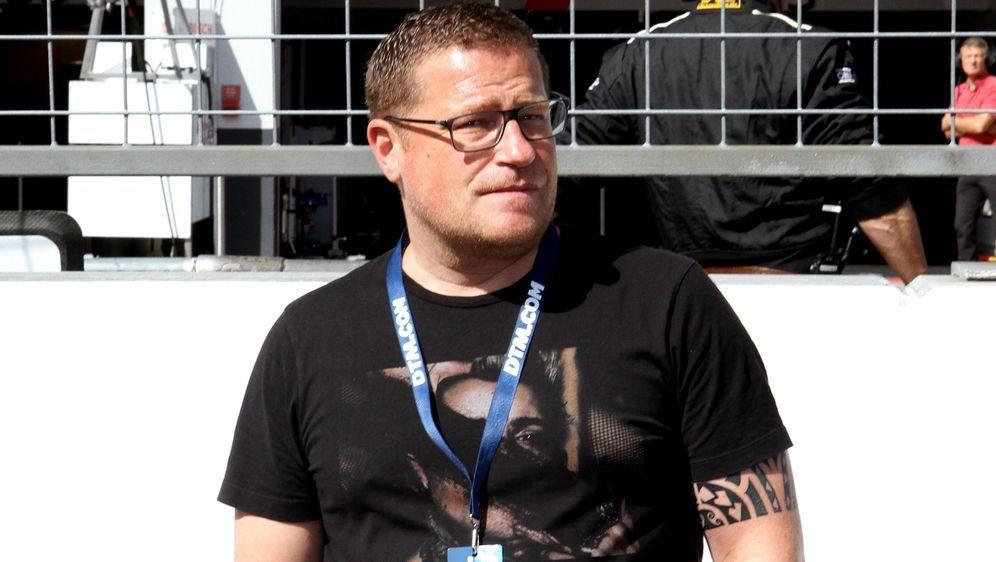Gladbach-Manager Max Eberl war bei DTM-Rennen am Nürburgring zu Gast. - Bildquelle: imago images / Pakusch