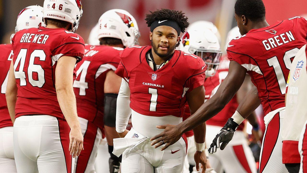 Arizona Cardinals - Wächst Kyler Murray über sich hinaus?  - Bildquelle: 2021 Getty Images