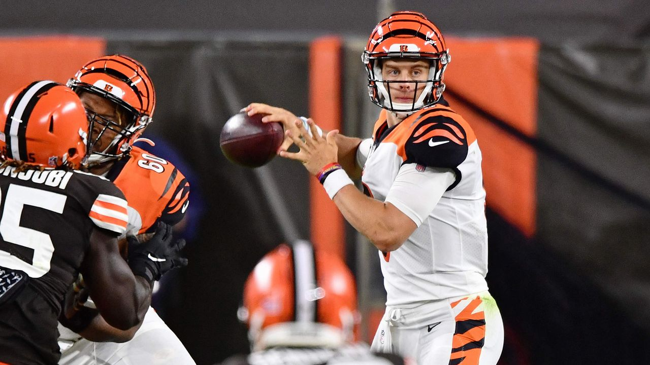 Joe Burrow (Cincinnati Bengals) - Bildquelle: 2020 Getty Images
