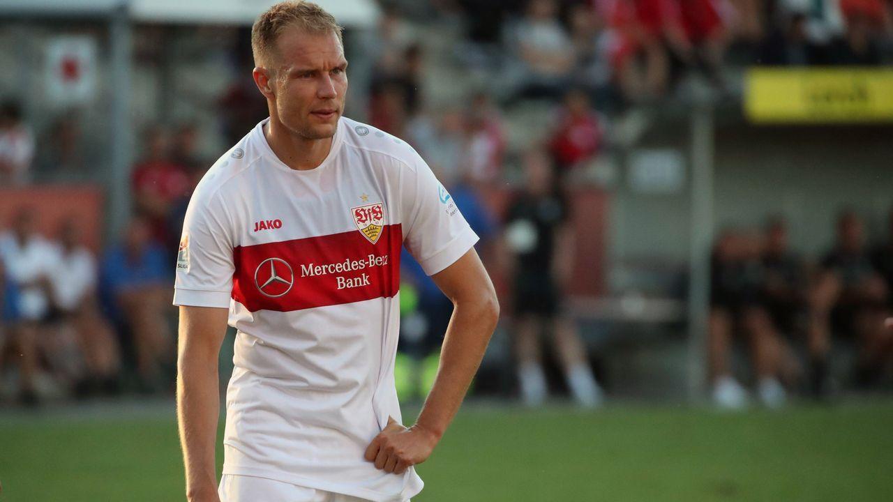 Abwehr - Holger Badstuber (VfB Stuttgart) - Bildquelle: imago images / Sportfoto Rudel