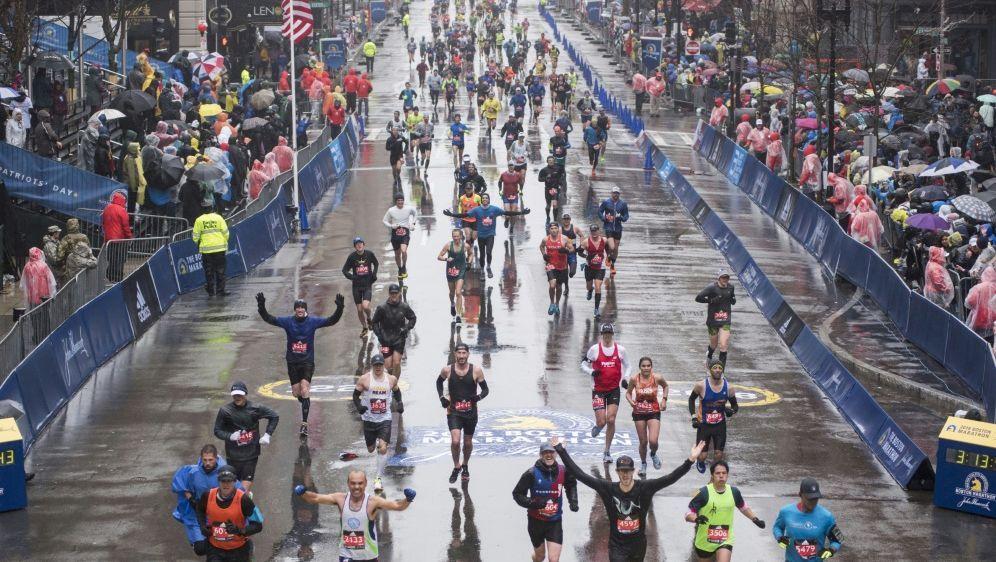 Der Boston Marathon wird auf September verschoben - Bildquelle: AFPSIDRYAN MCBRIDE