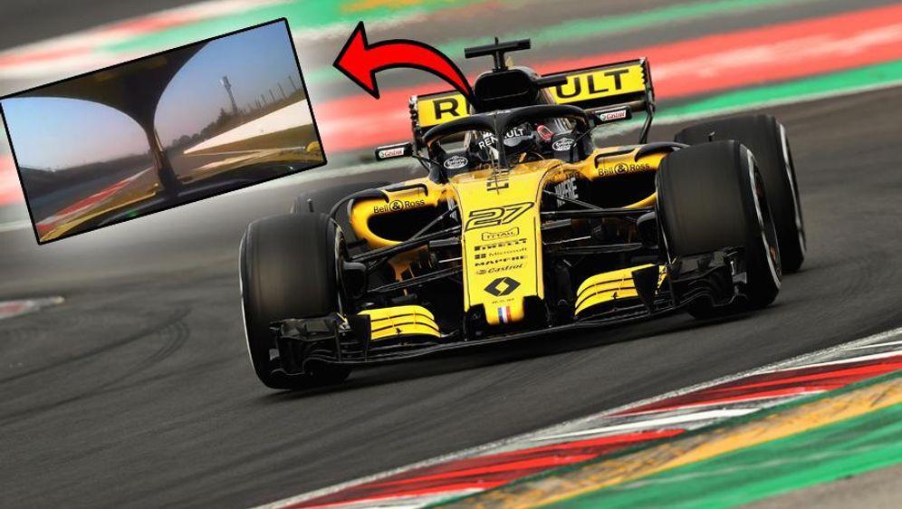 Mit VIDEO: Neue Perspektive! Das sehen F1-Fahrer mit dem Halo