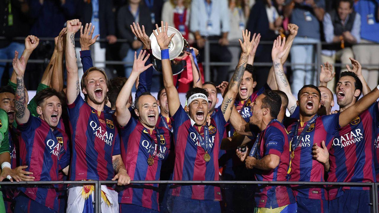 FC Barcelona (2015) - Bildquelle: imago/Ulmer