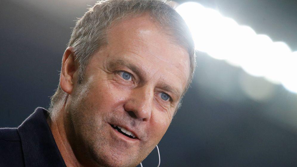 Hansi Flick gewann auch sein zweites Länderspiel mit der deutschen Nationalm... - Bildquelle: imago images/Pressefoto Baumann