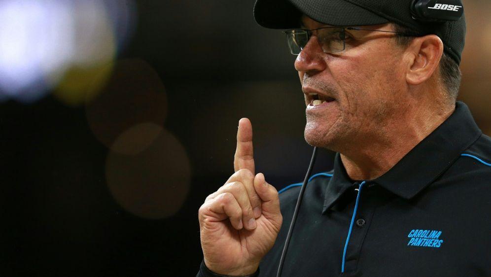 Nicht mehr Trainer der Carolina Panthers: Ron Rivera - Bildquelle: AFPGETTYIMAGES SIDSean Gardner