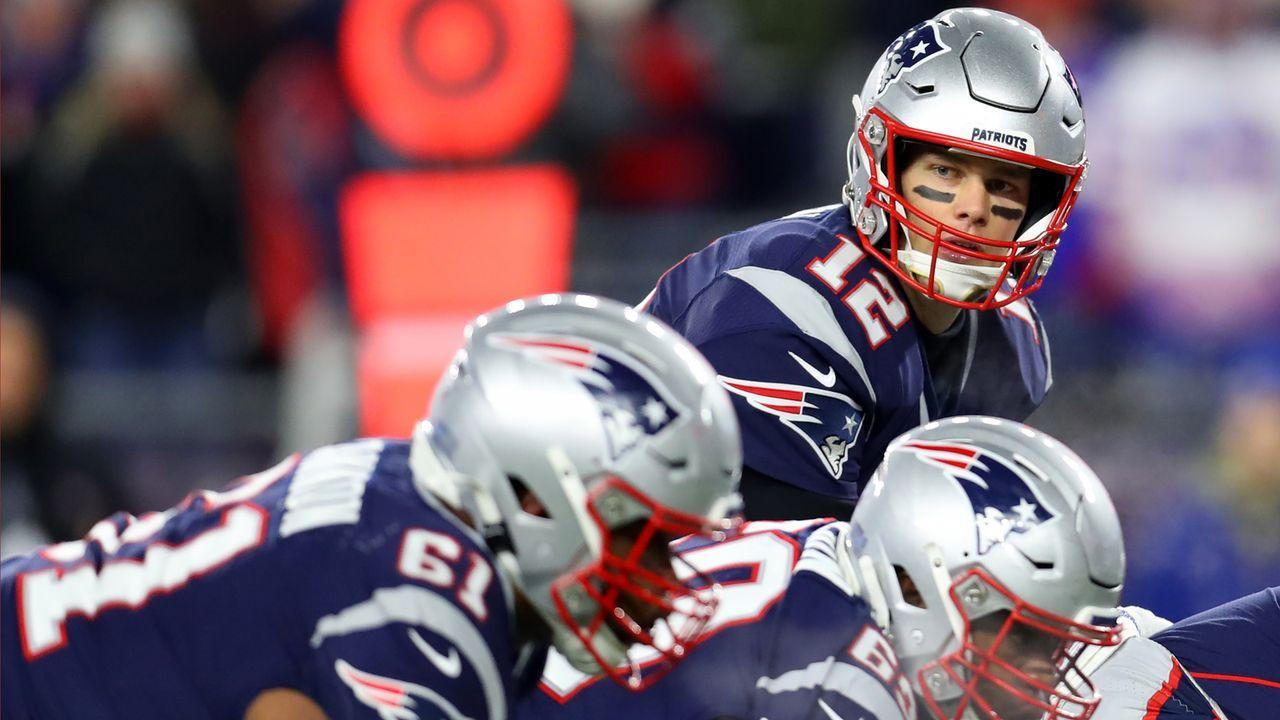 AFC: New England Patriots (12-3) - Bildquelle: 2019 Getty Images