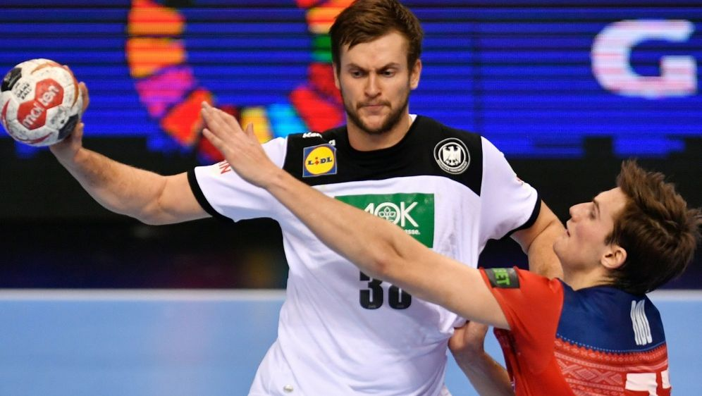 Führte sein Team mit sieben Toren zum Sieg: Fabian Böhm - Bildquelle: AFPSIDJOHN MACDOUGALL