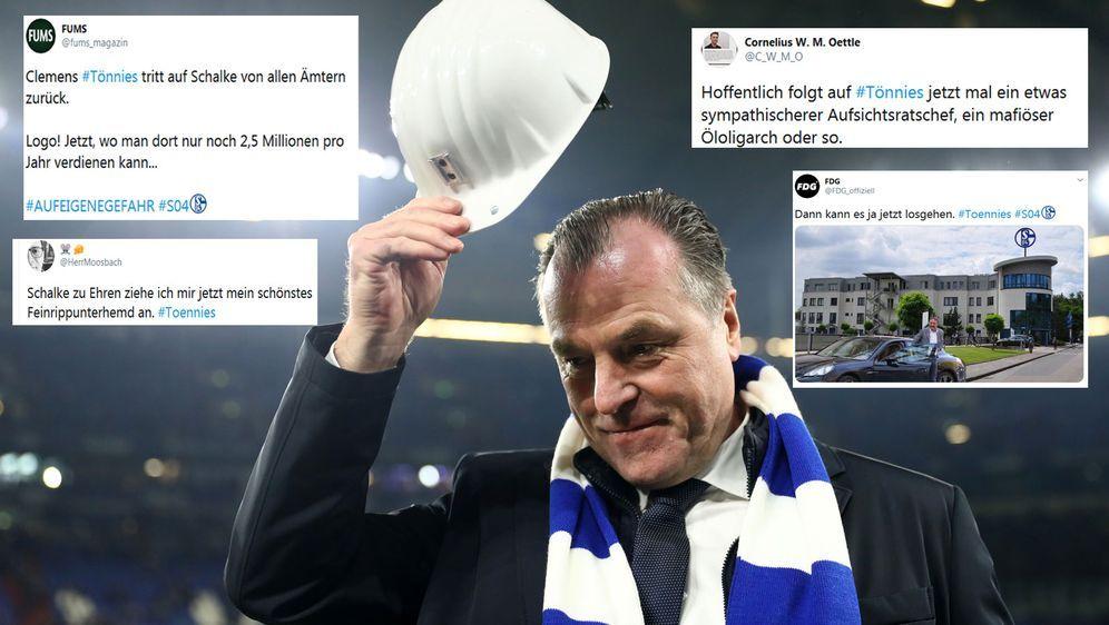 Nimmt seinen Hut und lässt das Internetz durchdrehen: Clemens Tönnies ist ni... - Bildquelle: Getty Images, Twitter