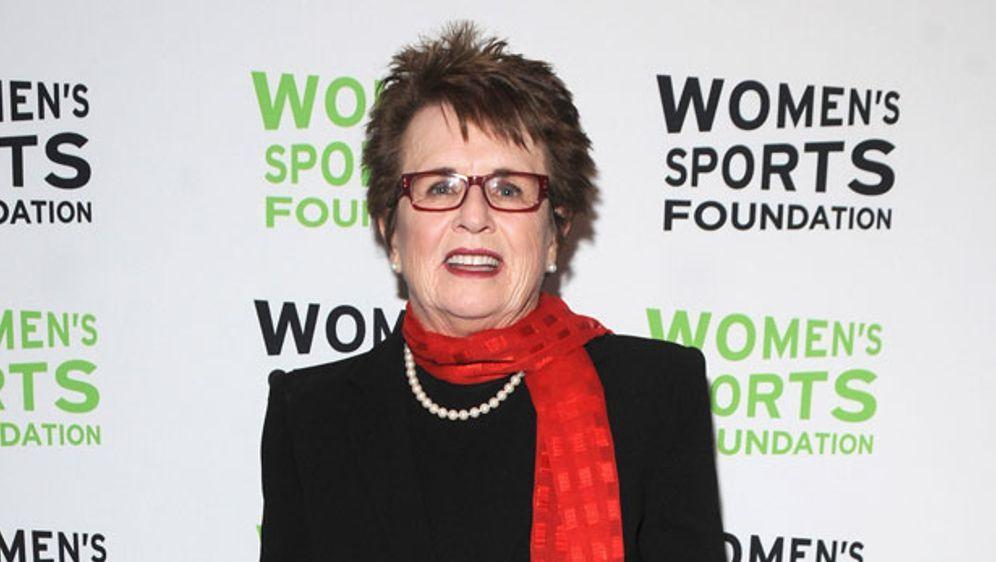 70 Jahre, aber trotzdem noch extrem engagiert: Billie Jean King - Bildquelle: Getty