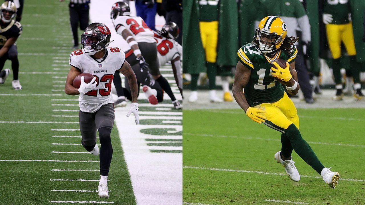 Buccaneers at Packers: Buccaneers-Secondary vs. Davante Adams - Bildquelle: Getty Images