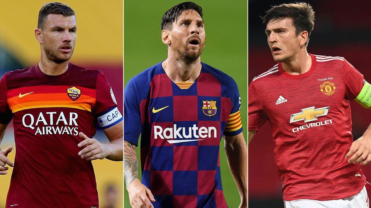 Lionel Messi und Co.: Die Kapitäne der europäischen Topklubs 2020/21 - Bildquelle: Getty Images