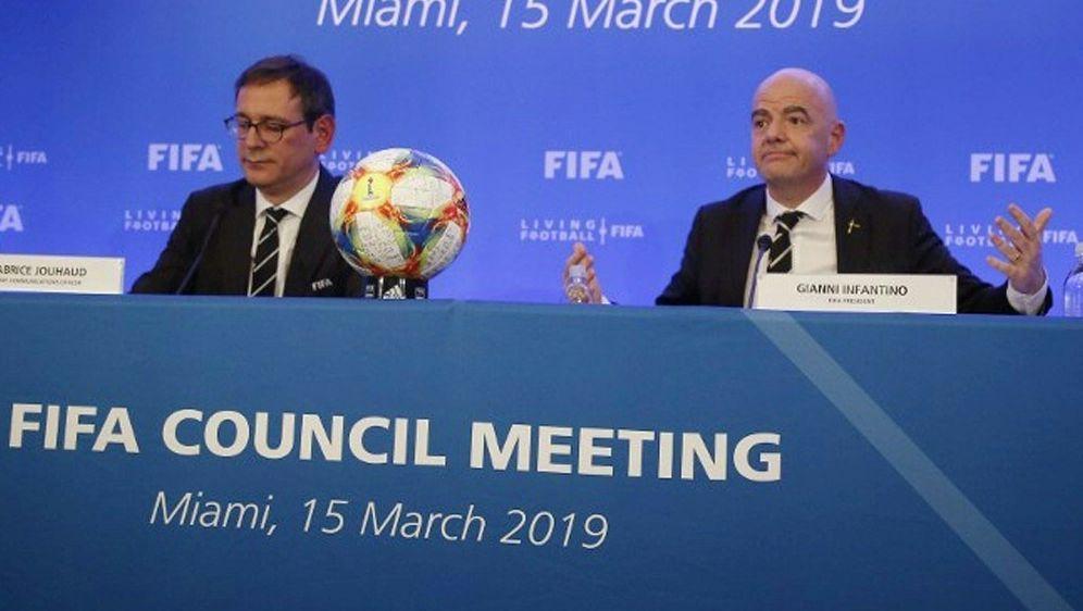 FIFA entscheidet: Klub-WM ab sofort mit 24 Mannschaften - Bildquelle: AFPSIDRHONA WISE